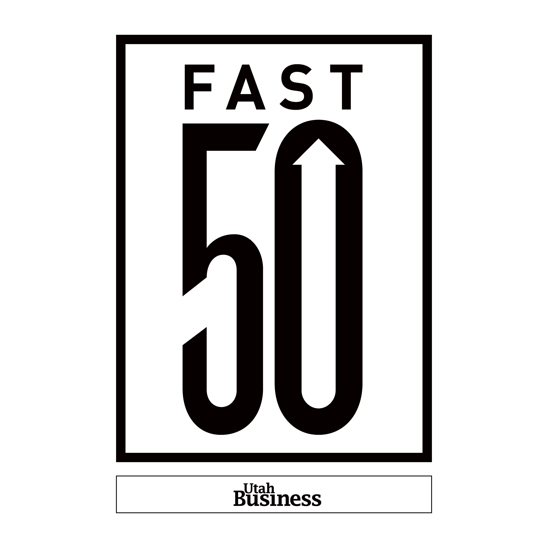 Fast 50 Logo Black