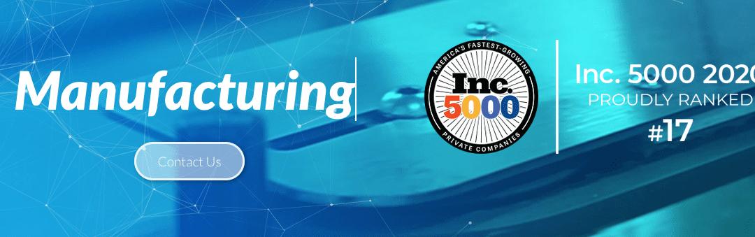 Dynamic Blending Named Among Fast Growing Companies in Utah
